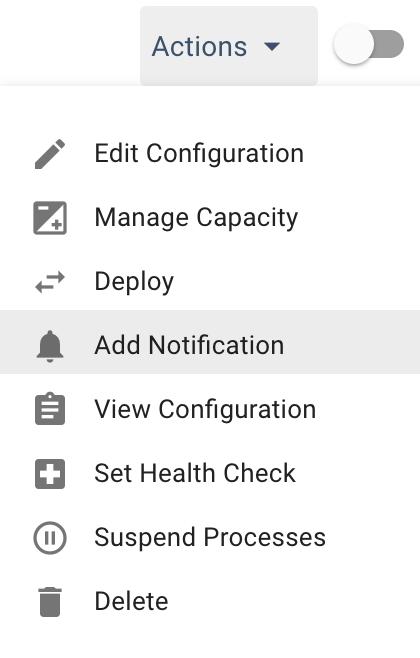 Creating Notifications - Spotinst API