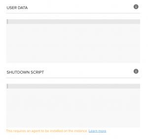 Shutdown Scripts - Spotinst API