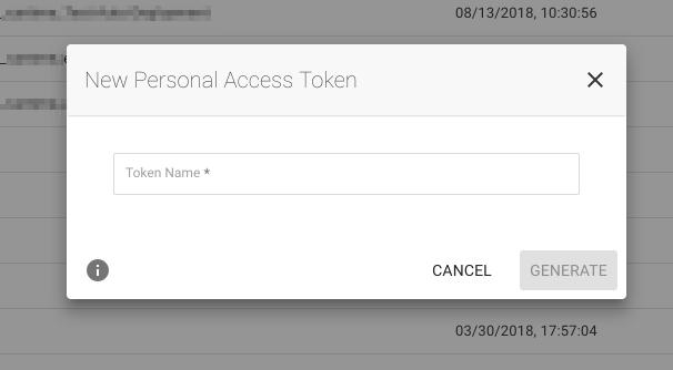 Create an API Token - Spotinst API