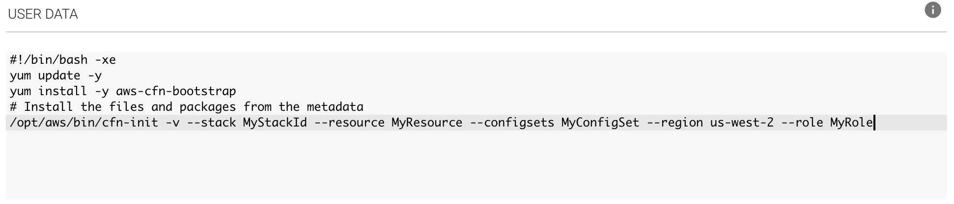 CFN Helper Scripts - Spotinst API